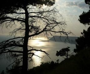 Закат на пляже Инжир