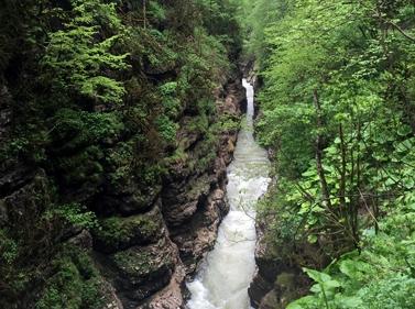 Место силы — Гуамское ущелье