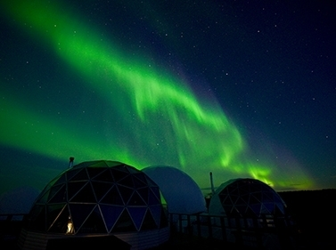Северное сияние: зимний тур по Кольскому (глэмпинг)