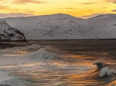 Дыхание Севера: Териберка, снегоходы и северное сияние