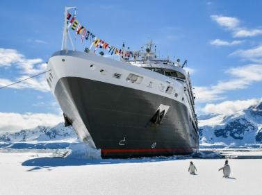 Русский круиз в Антарктиду на Новый год