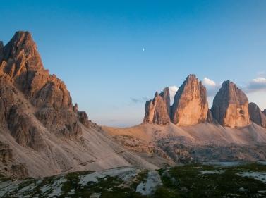 Школа альпинизма в Доломитовых Альпах