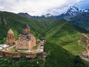 Горный поход и восхождение на Казбек