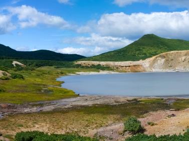 Чудеса острова Кунашир