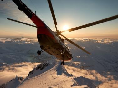 Экстрим на Камчатке: фрирайд, хели-ски и снегоходы