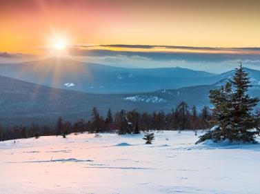 Сказки зимнего Урала: треккинги и культура
