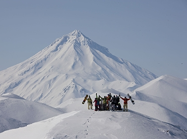 Неделя хели-ски на Камчатке