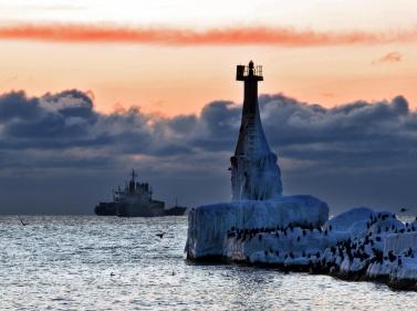 Сахалин. Островная зима