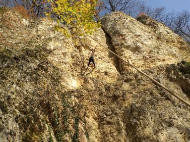 Скальные занятия на хребте Уна-Коз