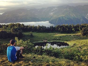 Поход к Зеркальному озеру и горе Ачишхо