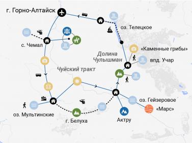 Тур «Весь Алтай за 12 дней»