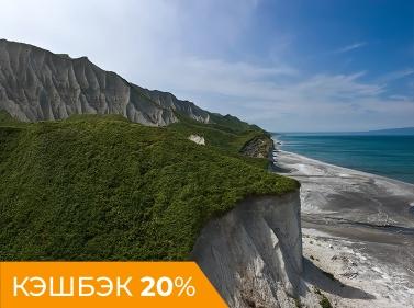 Итуруп — остров белого песка и горячих водопадов